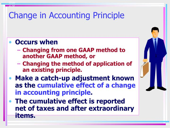 Change in Accounting Principle