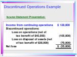 discontinued operations example2