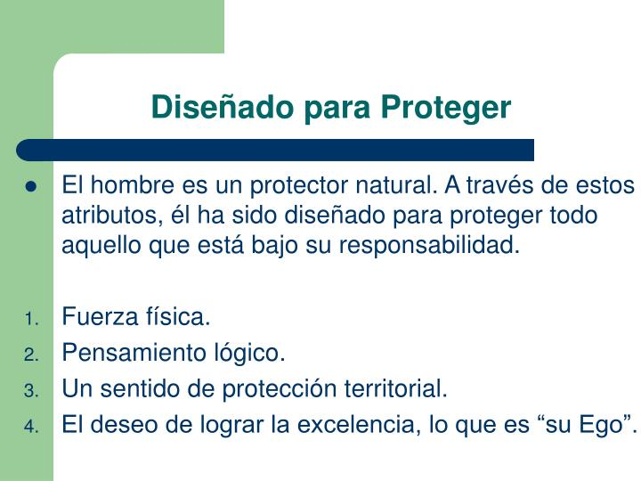 Diseñado para Proteger