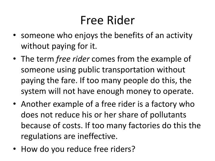 Free Rider