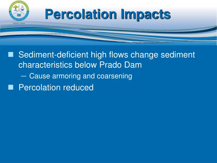 Percolation Impacts