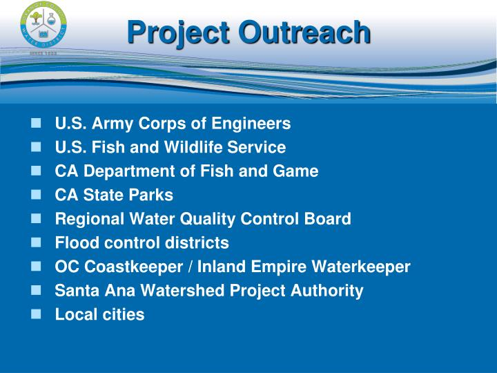 Project Outreach