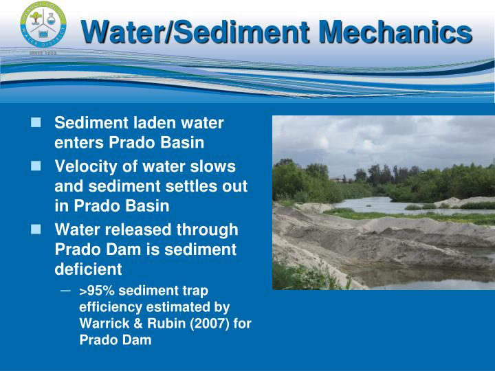 Water/Sediment Mechanics