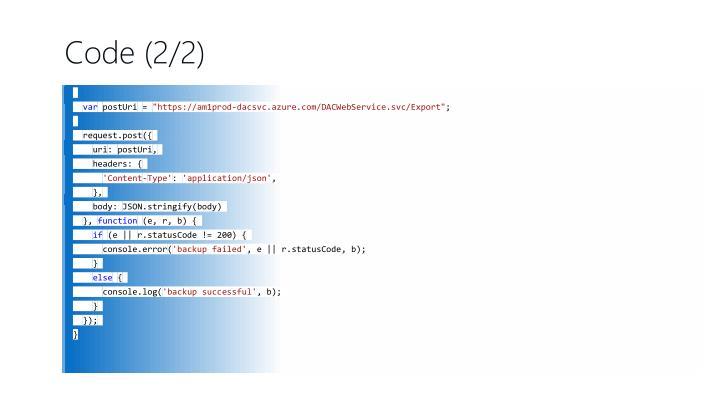 Code (2/2)