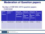moderation of question papers1