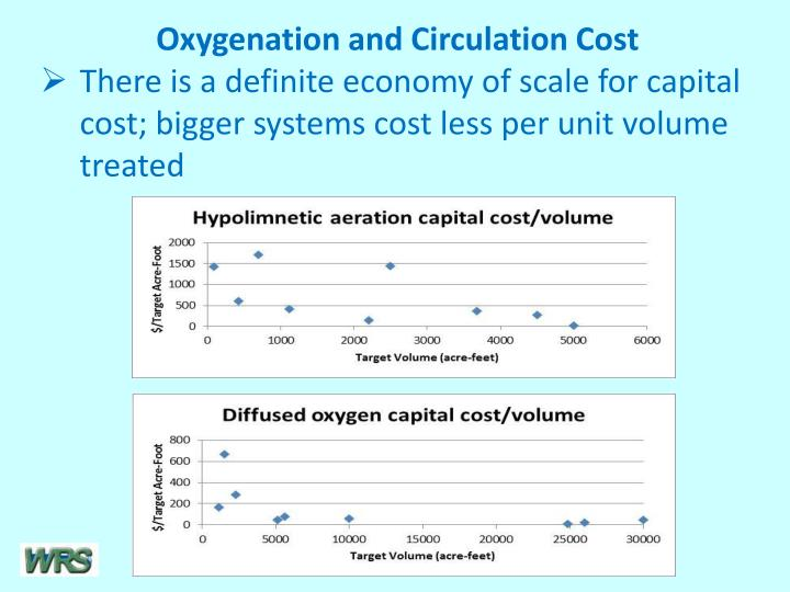 Oxygenation and Circulation Cost