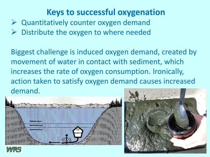 Keys to successful oxygenation