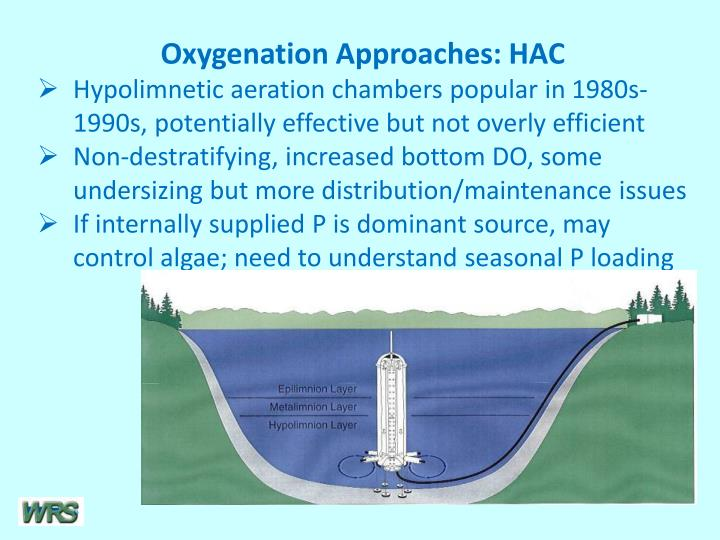 Oxygenation Approaches: HAC