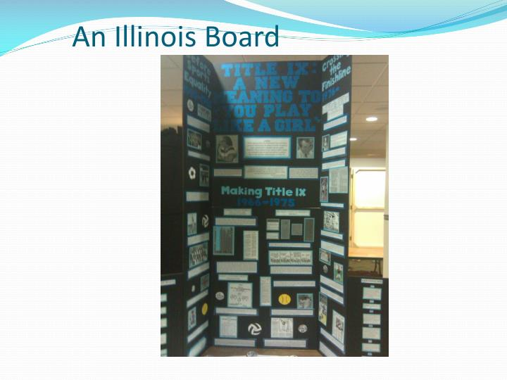 An Illinois Board