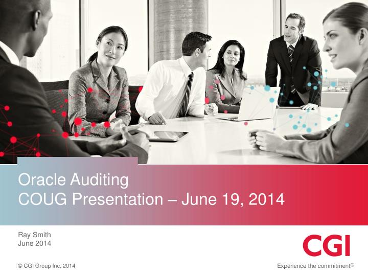 Oracle Auditing
