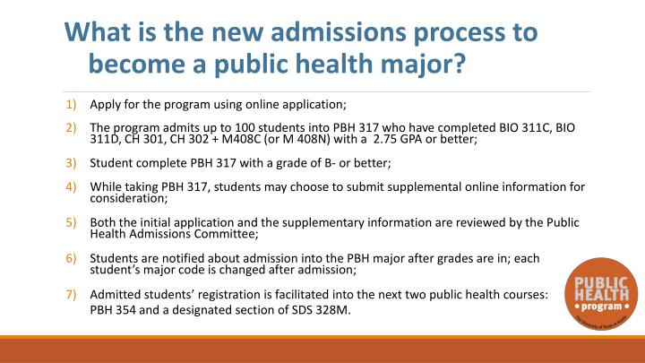 What is the new admissions