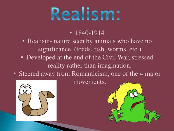 Realism: