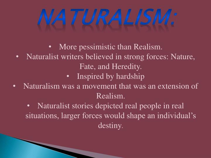 Naturalism: