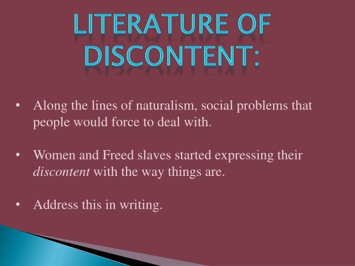 Literature of