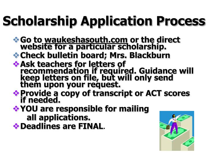 Scholarship Application Process