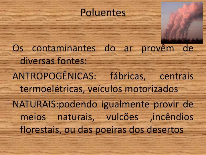 Poluentes