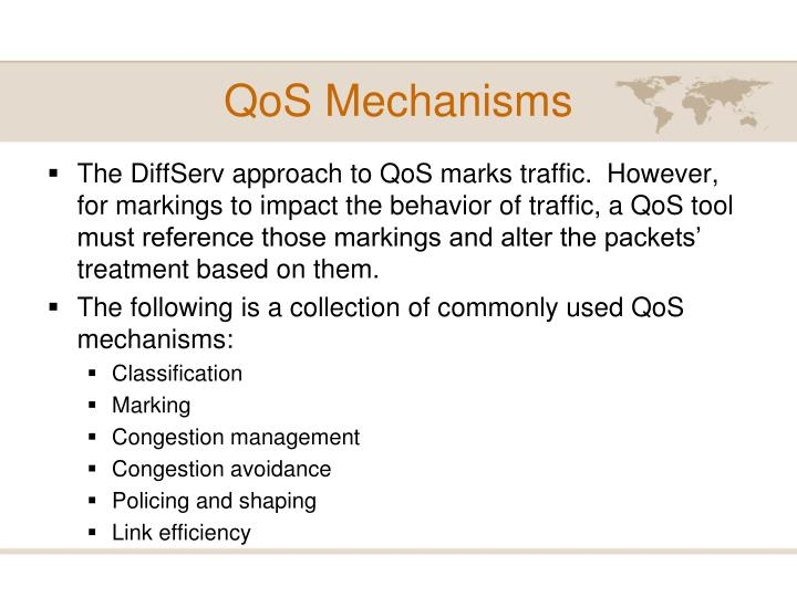 QoS Mechanisms
