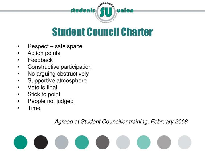 Student council charter