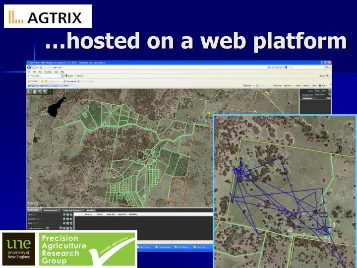 …hosted on a web platform