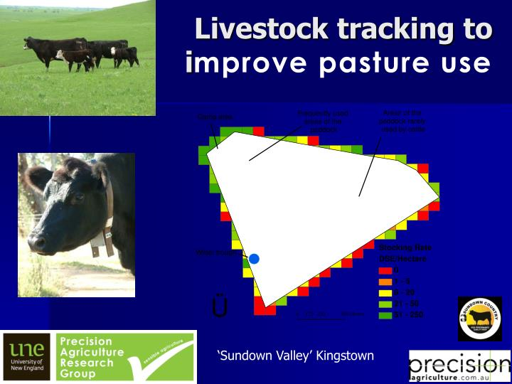 Livestock tracking to