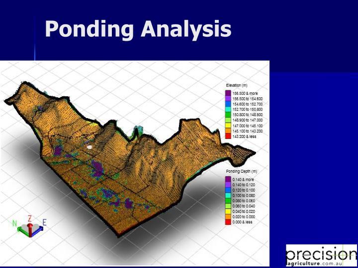 Ponding Analysis