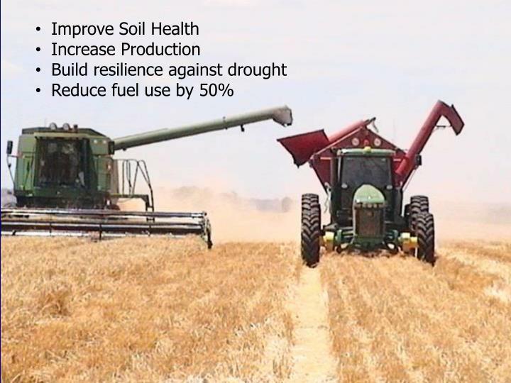Improve Soil Health