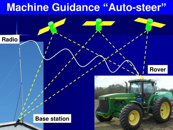 "Machine Guidance ""Auto-steer"""