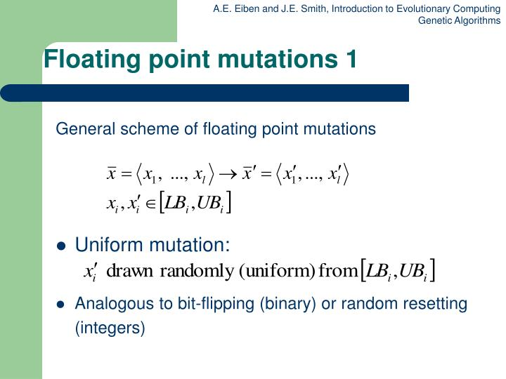Floating point mutations 1
