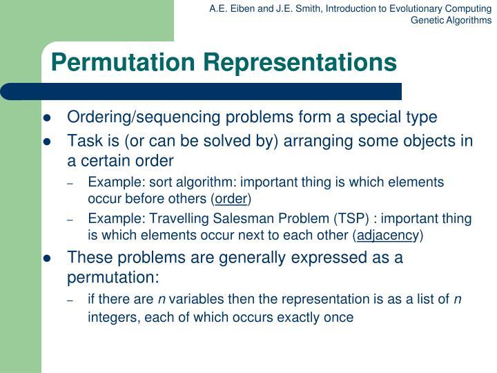 Permutation Representations