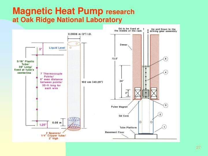Magnetic Heat Pump