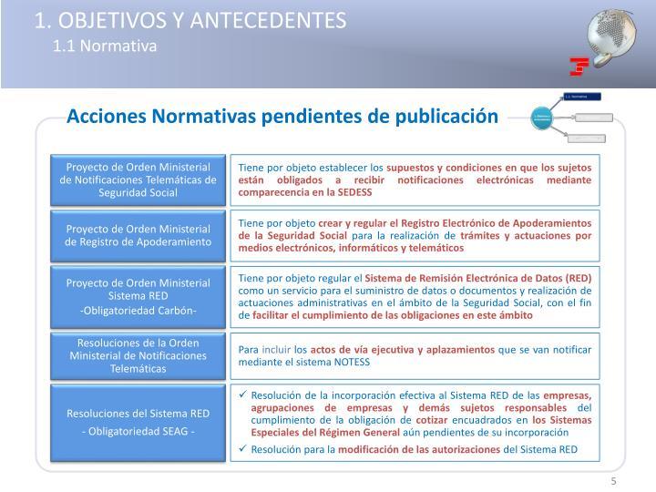 1. OBJETIVOS Y ANTECEDENTES