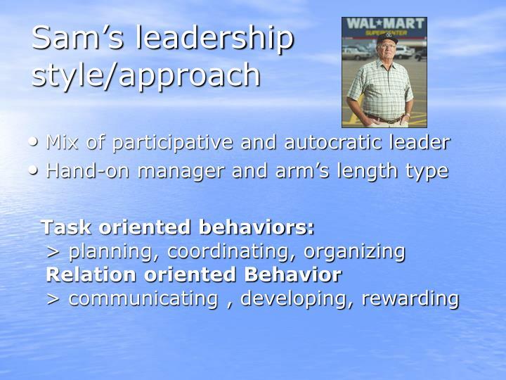 Leadership At Wal-Mart