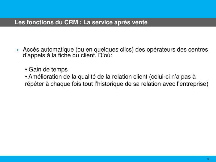 Les fonctions du CRM : La service après vente