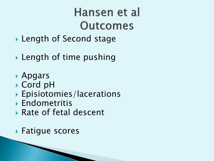 Hansen et al