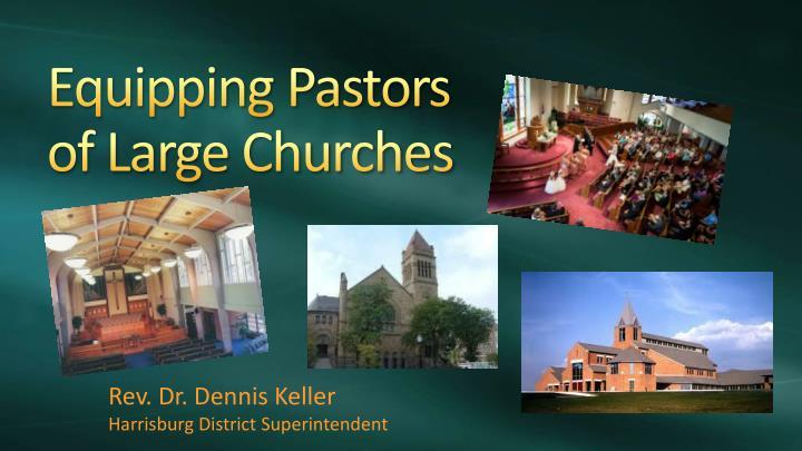Equipping Pastors