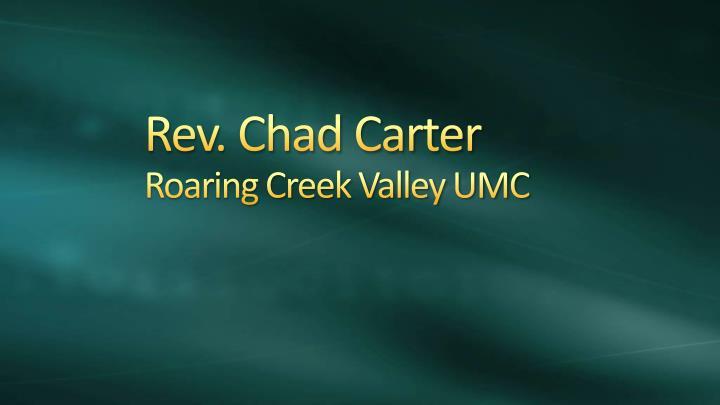 Rev. Chad Carter