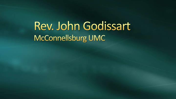 Rev. John Godissart