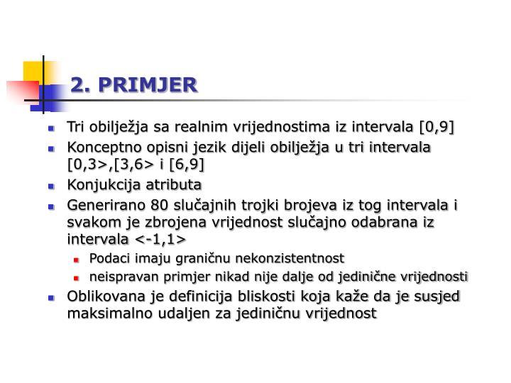2. PRIMJER