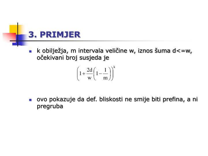 3. PRIMJER