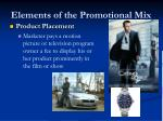 elements of the promotional mix2