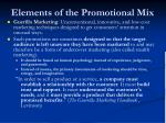 elements of the promotional mix7