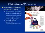 objectives of promotion2