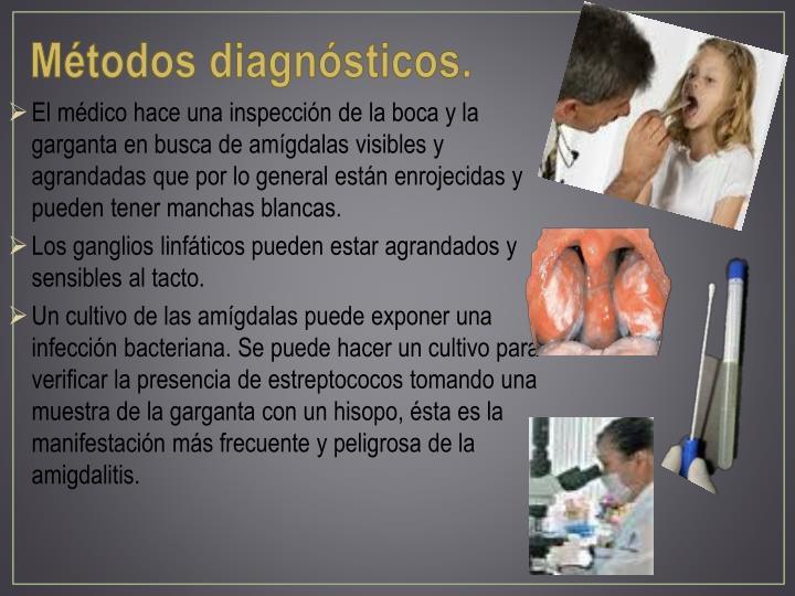 Métodos diagnósticos.