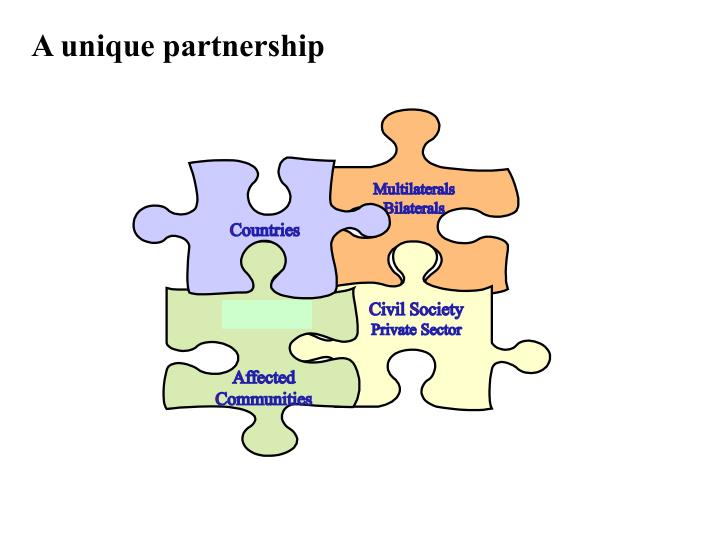 A unique partnership