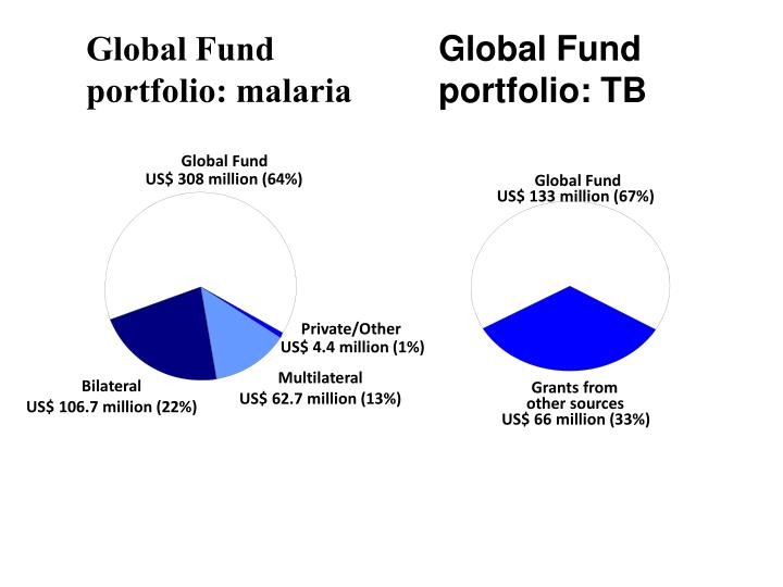 Global Fund portfolio: malaria