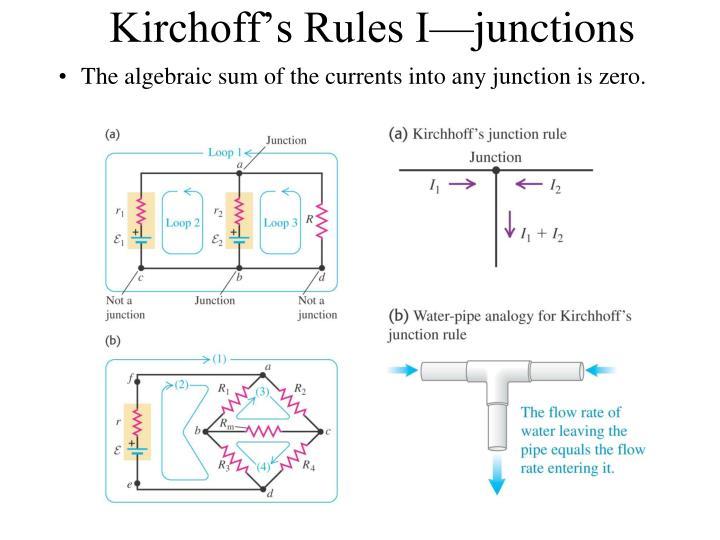 Kirchoff's Rules I
