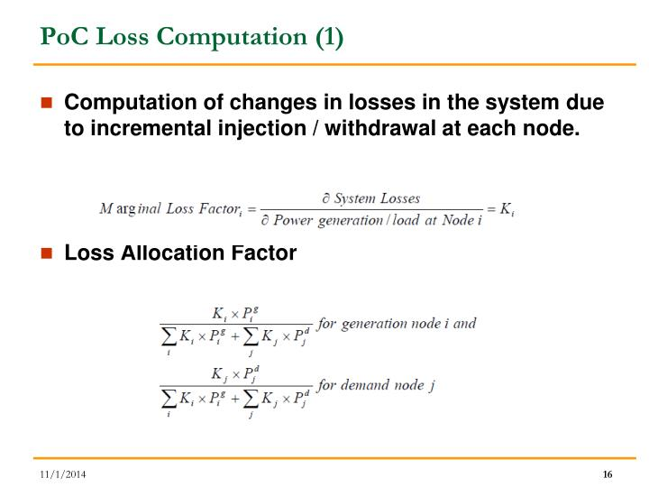 PoC Loss Computation (1)
