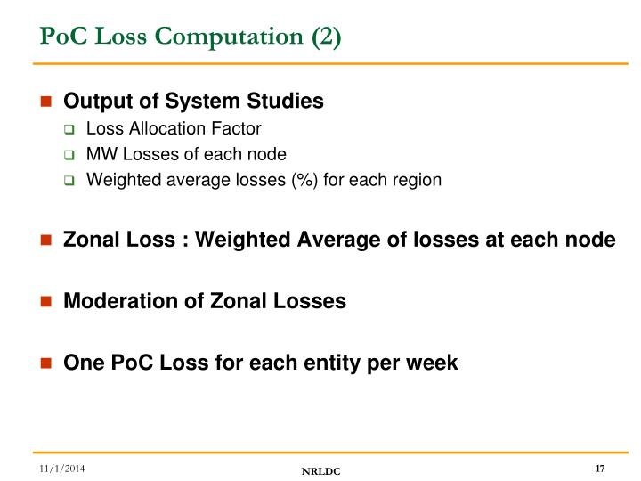 PoC Loss Computation (2)