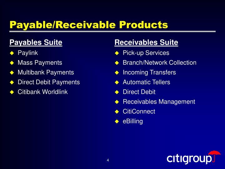 Payables Suite