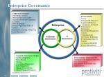 e nterprise governance